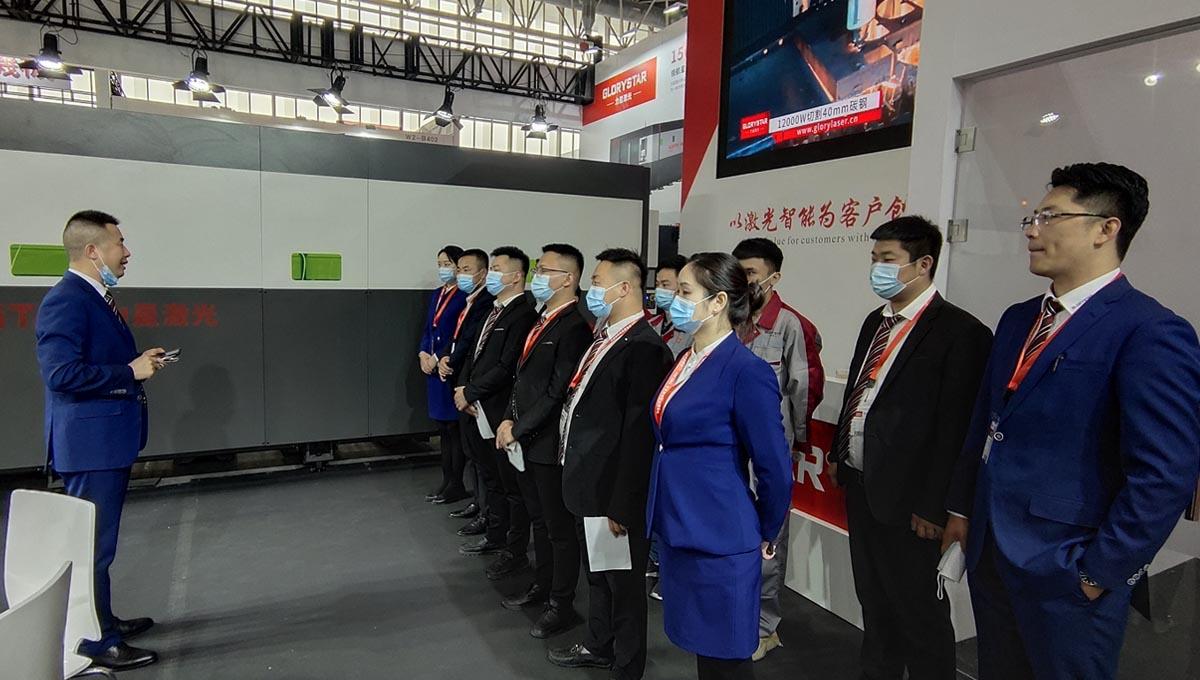 激光科技让世界更美好!力星激光   后疫情时期首个CIMT 2021国际机床展
